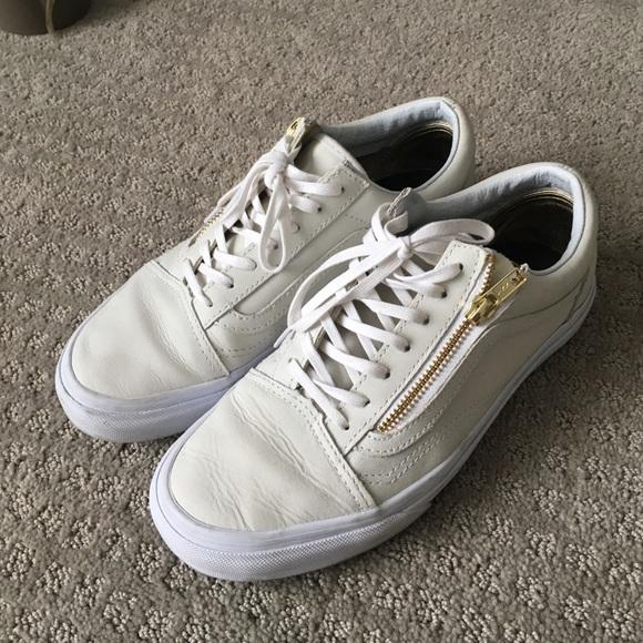 grano salud malta  Vans Shoes | Vans Old Skool Zip Limited Edition Gold Cream 75 | Poshmark