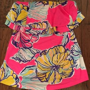 NWT LILLY PULITZER TUBE TOP size small