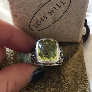 Lois Hill Jewelry - Lois Hill citrine Sterling silver ring