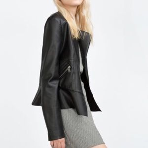 Faux Leather Zara Jacket