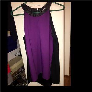 Kenneth Cole halter blouse