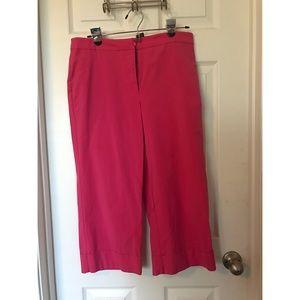 Hot Pink Capri Pants size 8
