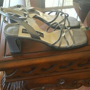 Kenneth Cole Shoes - Kenneth Cole, Heels With Ankle Tie Sandals