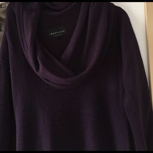 Last mark down Purple fitted sweater dress