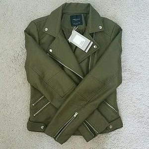 Zara Trafaluc Outerwear Faux Leather Jacket