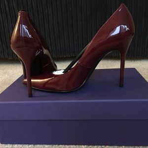 Stuart Weitzman Shoes - NEW STUART WEITZMAN SEXY PATENT LEATHER HEELS PUMP