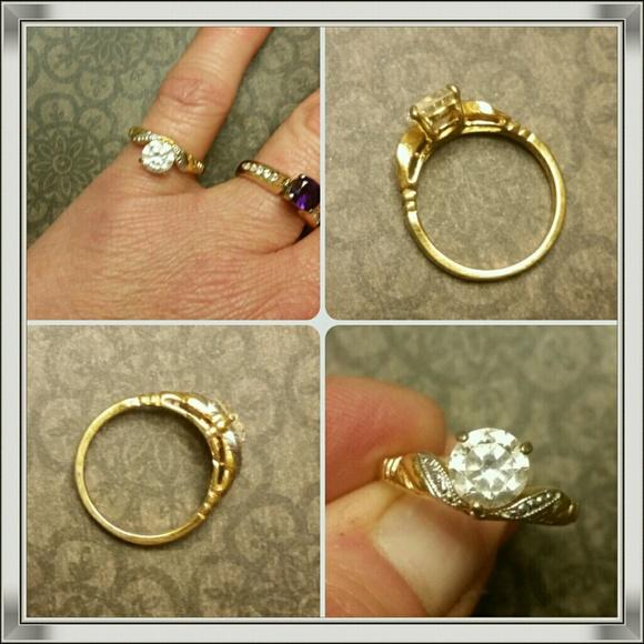 Completely new Vintage 14kt Hge Lind Cz Ring | Poshmark IY85