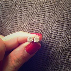 Jewelry - CZ stud earrings