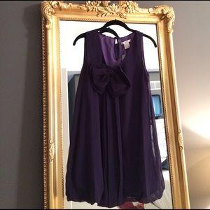 KindLikeLove Dresses & Skirts - NWT KindLikeLove purple bubble dress with bow, s.