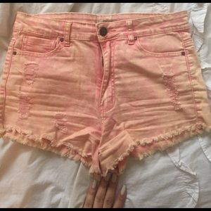 Pants - High waisted shorts