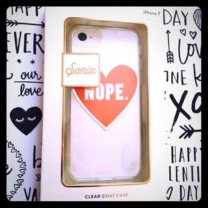 NOPE !! ❤️iPhone 7 case sonix