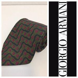 Giorgio Armani Other - 🇮🇹 Men's Giorgio Armani Vintage All Silk Tie