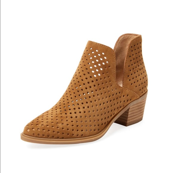 924d31baf80 Steven By Steve Madden Danese Perforated Bootie. M 58bb1cd4f739bccba405e204