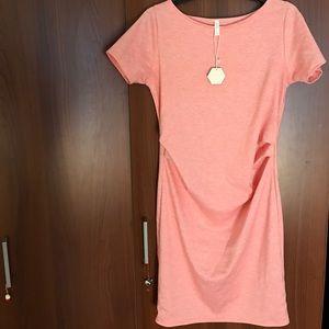 Pinkblush Dresses & Skirts - Pink blush pink maternity dress