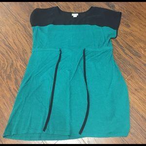 Motherhood Maternity Tops - Motherhood Maternity green size large shirt