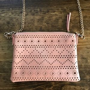Urban Expressions Handbags - Small laser cut crossbody