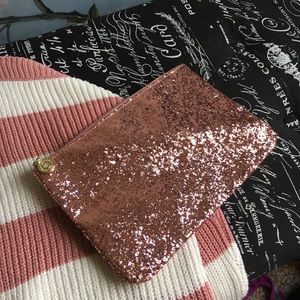 Handbags - Sparkly Pink Cosmetic Bag