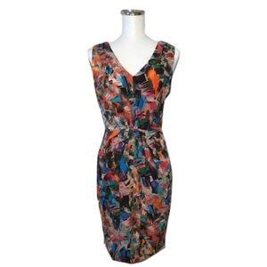 Donna Morgan Dresses & Skirts - Donna Morgan Sz 4 Silk Abstract Crepe Dress NWOT