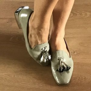 Zara woman flat shoes