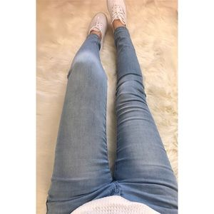 DREAM Light Wash Ankle Skinnies