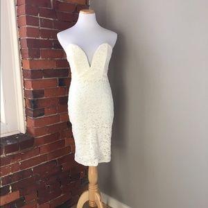 Love Culture Dresses & Skirts - Love Culture Strapless Lace Dress