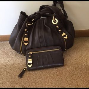 B Makowsky Handbags - B Makowsky Satchel Genuine Leather NWOT