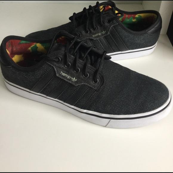 Adidas zapatos hombre  Seeley cáñamo poshmark