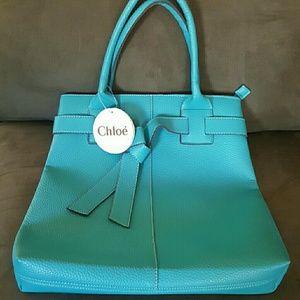 Chloe Handbags - 🎀 Adorable Tiffany blue shoulder bag 🎀