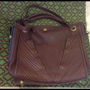 ORYANY Handbags - orYANY LEATHER BURGUNDY HANDBAG