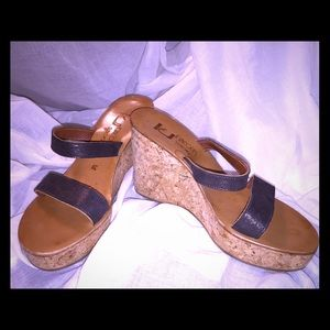 St. Tropez Shoes - K Jacques St. Tropes wedges - fantastic condition!