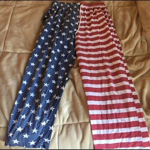 AKA New York Other - American Flag Pajama Pants