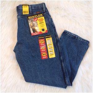 Rustler Other - Men's Rustler Regular Fit Straight Leg Jeans