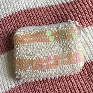 Handbags - Opalescent and pearl coin purse 👛