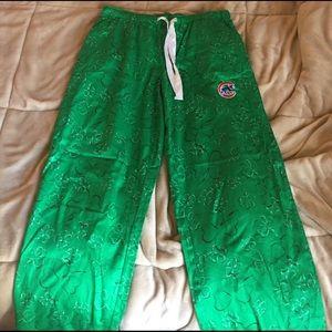 Concept K Other - Green Shamrock Cubs Pajama Pants