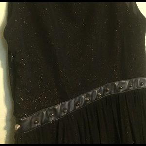 Black and gold size L forever21 dress