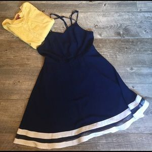 Nautical summer dress