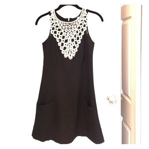 🎉HP 2X🎉 Adorable black & white a-line dress