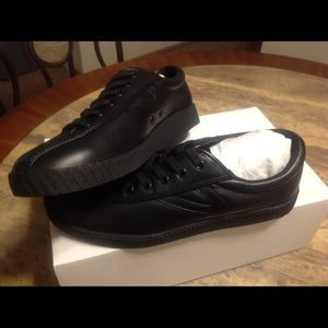 Tretorn Shoes - Tretorn NY Lite Leather Sneakers