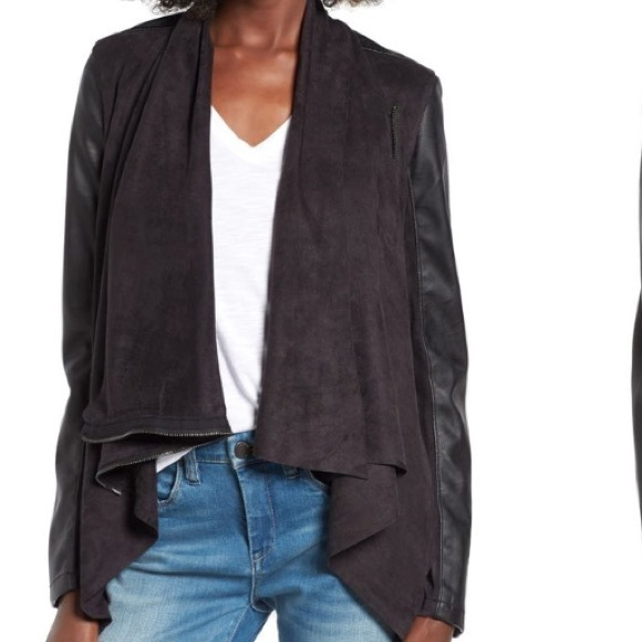 Urban outfitters faux leather jacket