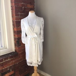 Other - Custom Lace Bridal Robe
