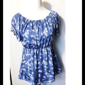 Due Time Maternity  Tops - 🆕 Cute Floral Printed Maternity Top