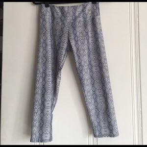 Onzie gray snakeskin leggings