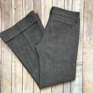 Level 99 Pants - Level 99 Trouser Flare Pants 25x30 Gray 100% Wool