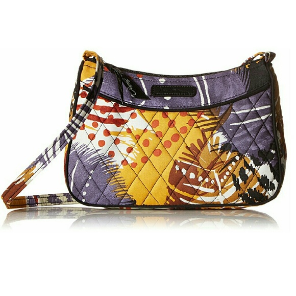 15cc798f79c2 Vera Bradley Painted Feathers Crossbody