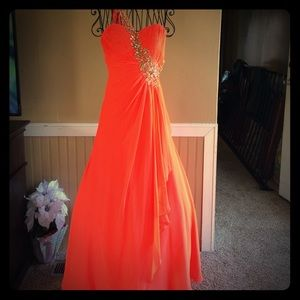 Alyce Paris Dresses & Skirts - Orange Prom/Pageant Dress