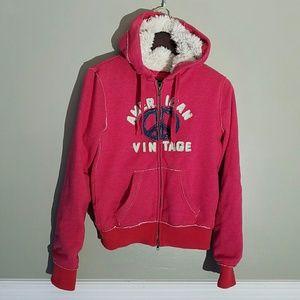 American Vintage Tops - {American Vintage} SuperFLUFF Peace Hoodie