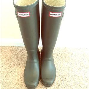 Hunter Boots Shoes - Hunter rain boots tall classic