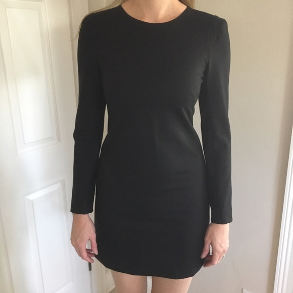 13376a182c2b Black Wool Dress Long Sleeve – Little Black Dress | Black Lace ...