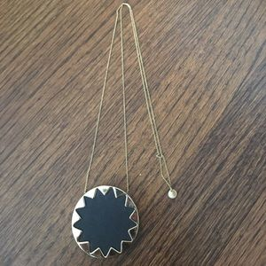 Elizabeth and James Jewelry - House of Harlow sun burst necklace.