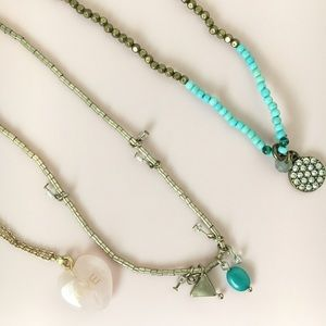 3 American Eagle Necklaces